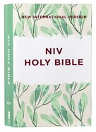 NIV Outreach Bible Green Leaf (Black Letter Edition) Paperback