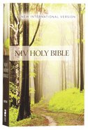 NIV Value Outreach Bible Green Forest Path (Black Letter Edition)