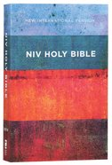 NIV Value Outreach Bible Red Blue Stripes (Black Letter Edition) Paperback