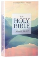 NIV Holy Bible Larger Print Lakeside (Black Letter Edition) Paperback