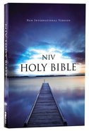 NIV Value Outreach Bible Blue Pier (Black Letter Edition) Paperback