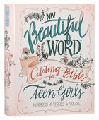 NIV Beautiful Word Coloring Bible For Teen Girls