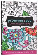 Faithgirlz Promises For You Coloring Devotional Hardback
