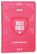 ICB Tommy Nelson's Brave Girls Devotional Bible Pink Premium Imitation Leather