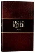 NIV Thinline Bible Brown Paperback