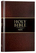 NIV Thinline Bible Brown Hardback