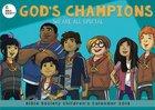 2018 Kids Calendar, God's Champions Bible Memory Verse Calendar