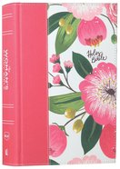 NKJV the Woman's Study Bible Pink Floral Full-Color Hardback