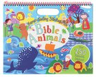 Never-Ending Sticker Fun: Bible Animals Spiral