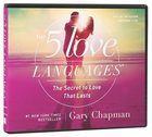 The Five Love Languages (3cds Abridged) CD