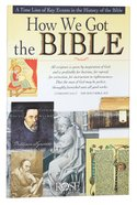 How We Got the Bible (Rose Guide Series) Pamphlet
