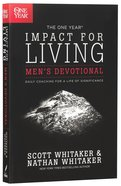 The One Year Impact For Living (Men's Devotional)