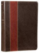 NLT Swindoll Study Bible Brown Tan (Black Letter Edition) Imitation Leather