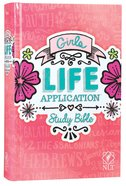 NLT Girls Life Application Study Bible (Black Letter Edition) Hardback