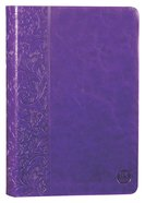 TPT New Testament Purple (Black Letter Edition) (With Psalms Proverbs And Song Of Songs) Imitation Leather