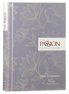 TPT New Testament Floral (Black Letter Edition) (With Psalms Proverbs And Song Of Songs)