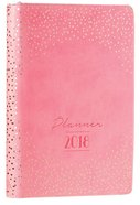 2018 Large Womens 18-Month Planner: Sparkles Pink
