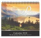 2018 Desktop Calendar: Inspirational Psalms