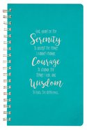 Spiral Journal, Serenity Prayer, Luxleather Spiral