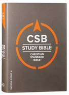 CSB Study Bible Red Letter Edition