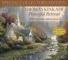 2018 Thomas Kinkade Peaceful Retreat Special Collector's Edition Wall Calendar