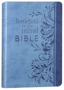 Amplified Battlefield of the Mind Bible Blue Imitation Leather