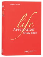 NIV Compact Life Application Study Bible (Anglicised) Hardback
