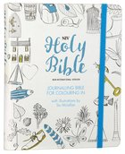 NIV Journalling Bible For Colouring in Hardback