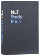 NLT Study Bible Indexed Blue (Red Letter Edition) Hardback