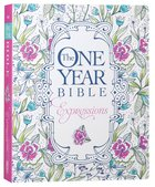 NLT One Year Bible Expressions Flora (Black Letter Edition) Paperback
