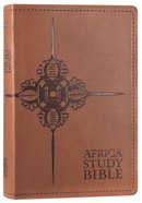 NLT Africa Study Bible Tan (Black Letter Edition) Imitation Leather