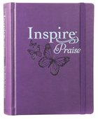 NLT Inspire Praise Bible Purple (Black Letter Edition) Imitation Leather