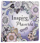 NLT Inspire Creative Journaling Bible Proverbs (Black Letter Edition)