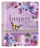 NLT Inspire Praise Bible Purple Garden (Black Letter Edition) Imitation Leather