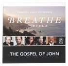 NLT Breathe Audio Bible Gospel of John (2 Cds) CD