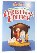Bible Activity Book, the (Ages 5-10) (Christmas Edition) (Itty Bitty Bible Series) Paperback