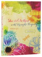 Signature Journal: She is Clothed With Strength & Dignity (Prov 31:25) Hardback