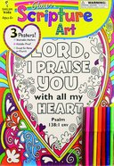Glitter Scripture Art Poster Set (Incl Pencils)