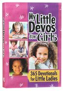 My Little Devos For Girls Paperback