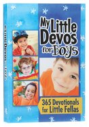 My Little Devos For Boys Paperback