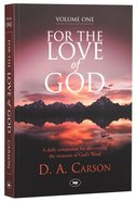 For the Love of God (Vol 1) Paperback