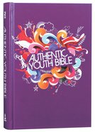 ERV Authentic Youth Bible Purple Hardback