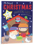 The Story of Christmas Colouring Book (With Over 100 Stickers)
