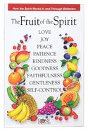 The Fruit of the Spirit (Rose Guide Series) Pamphlet