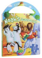 Noah's Amazing Ark (Carry Me Puzzle Book Series) Board Book