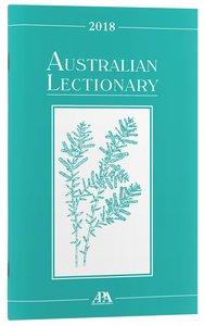 2018 Australian Lectionary An Australian Prayer Book (Year B)