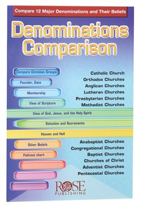Denominations Comparison (Rose Guide Series)