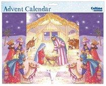 3d Fold Out Advent Calendar: Manger Scene