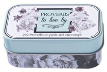 Botanical Tin Cards: Proverbs to Live By