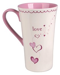 Ceramic Mug: Love, Three Things Will Last Forever - Faith, Hope, and Love - and the Greatest of These is Love